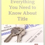 Everything to know about title